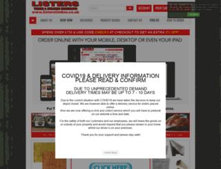 listerstimber.co.uk screenshot