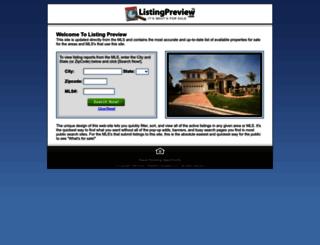 listingpreview.com screenshot