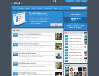 listoid.com screenshot