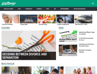 listscoop.com screenshot