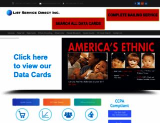 listservicedirect.com screenshot