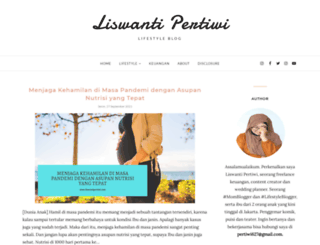 liswantipertiwi.com screenshot