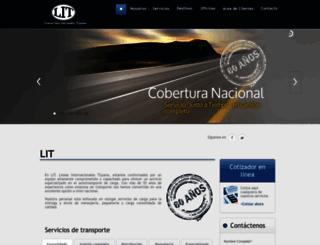 lit.com.mx screenshot