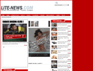 lite-news.com screenshot