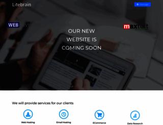 litebrain.com screenshot
