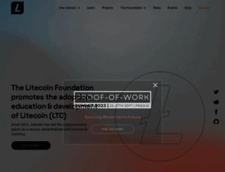 litecoin.net screenshot