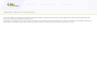 litedesigns.co.uk screenshot
