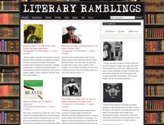literaryramblings.com screenshot