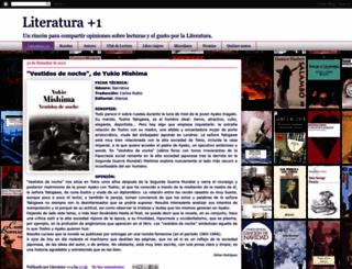 literaturamasuno.blogspot.mx screenshot