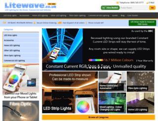 litewave.co.uk screenshot