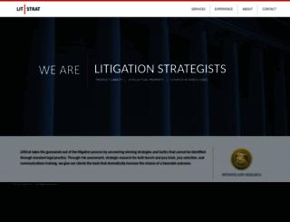 litstrat.com screenshot