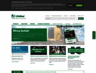 littelfuse.com screenshot