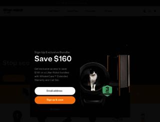 litter-robot.com screenshot