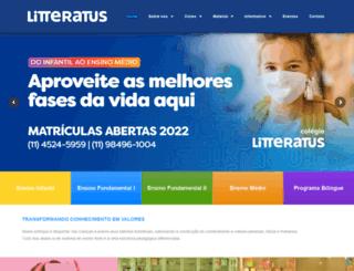 litteratus.com.br screenshot