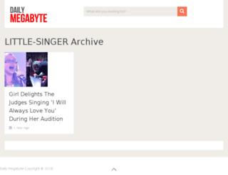 little-singer.dailymegabyte.com screenshot