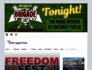 littleapplepost.com screenshot