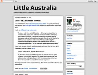 littleaustralia.blogspot.fr screenshot