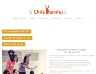 littlebunnieseducation.com screenshot