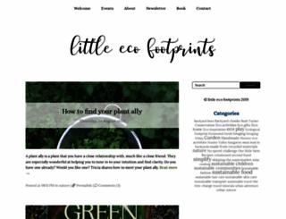 littleecofootprints.com screenshot
