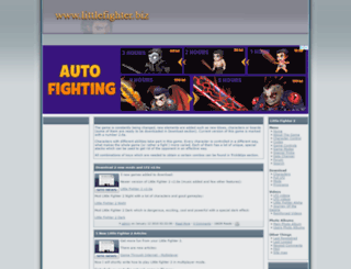 littlefighter.biz screenshot