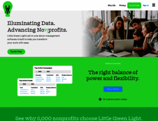 littlegreenlight.com screenshot