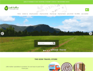 littlegulliver.com.au screenshot