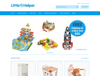 littlehelper.co.uk screenshot