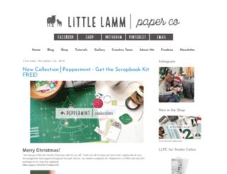 littlelammco.blogspot.be screenshot