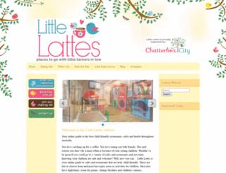 littlelattes.com.au screenshot
