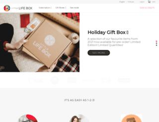 littlelifebox.com screenshot