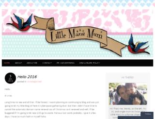 littlemansmum.com screenshot