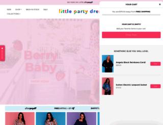littlepartydress.com.au screenshot