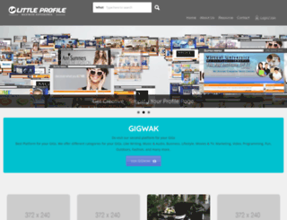 littleprofile.com screenshot