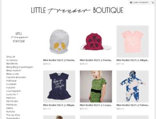 littletrender.storenvy.com screenshot
