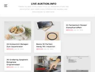 live-auktion.info screenshot