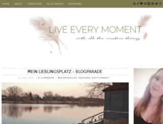 live-every-moment.de screenshot