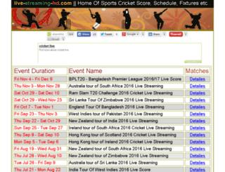 live-streaming-hd.com screenshot