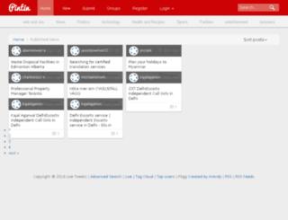 live-tweets.com screenshot