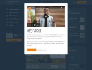 live.crossroads.net screenshot