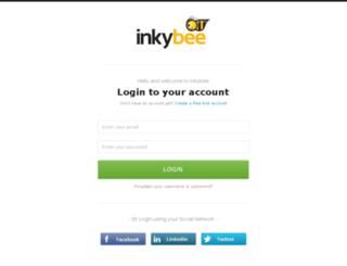live.inkybee.com screenshot