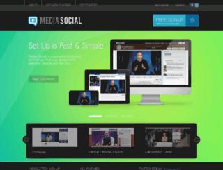 live.mediasocial.tv screenshot