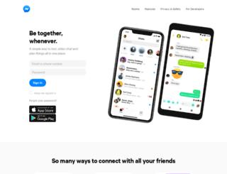 live.messenger.com screenshot