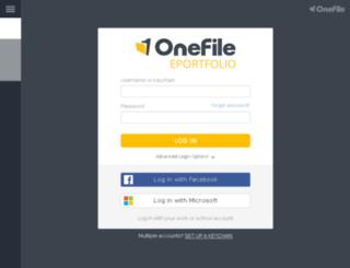 live.onefile.co.uk screenshot