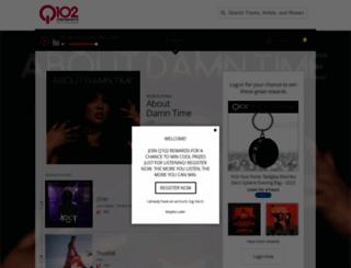 live.wkrq.com screenshot