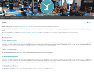 liveandbreathepilates.frontdeskhq.com screenshot