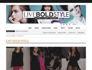 liveboldstyle.com screenshot