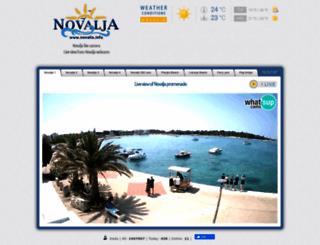 livecam.novalja.info screenshot