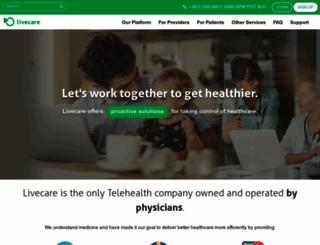 livecare.ca screenshot