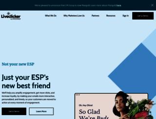 liveclicker.com screenshot