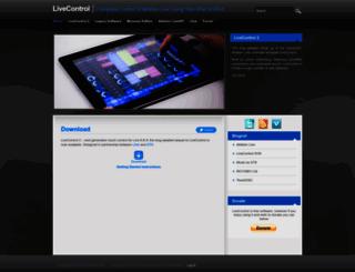 livecontrol.q3f.org screenshot